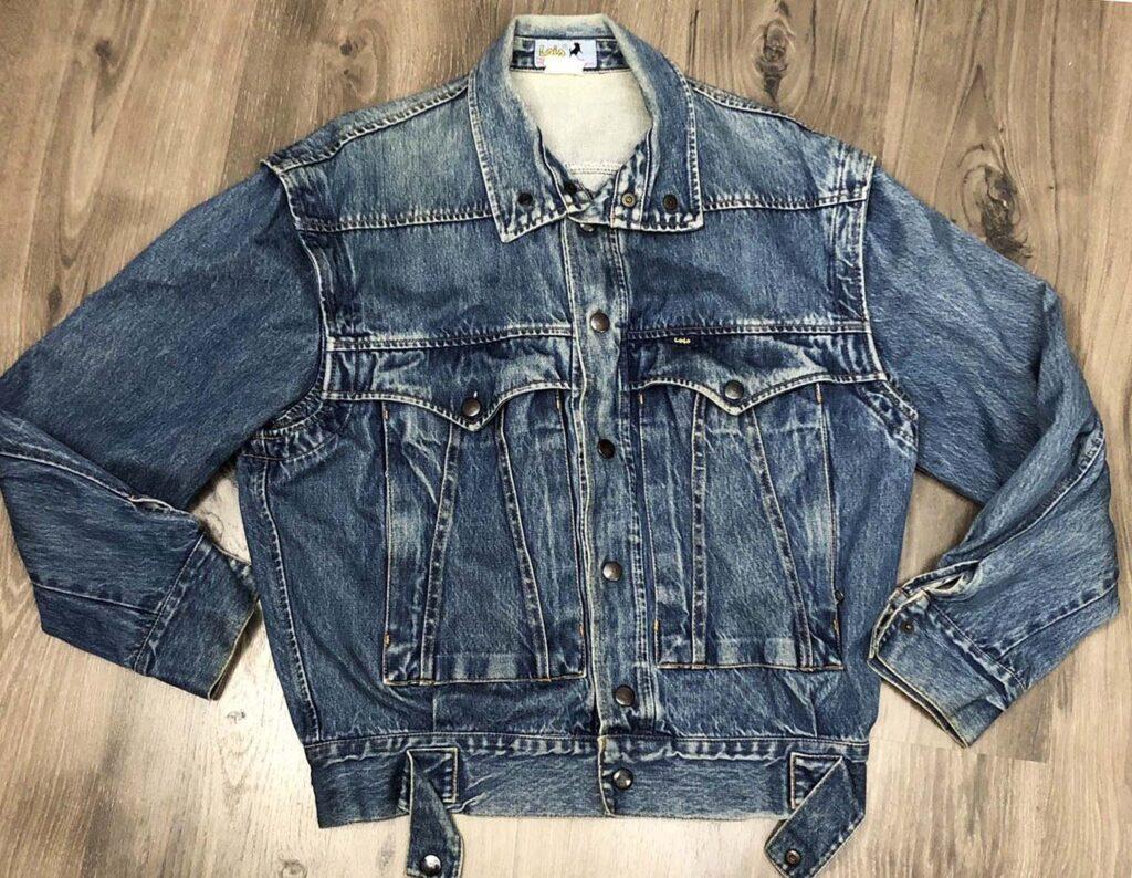 Реплика джинсовой куртки LOIS 1970-80х годов