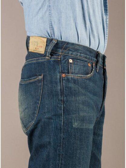 Японские джинсы 1973 lot-02 цвет hard washed 2