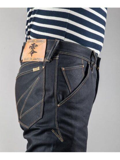 Японские джинсы Studio Zero Lot-YP-05 Coating Slim Straight цвет Rigid