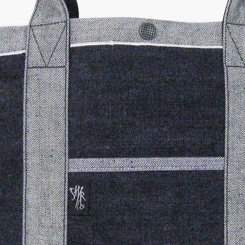 Сумка из Японского денима Shiro LOT SH-08M